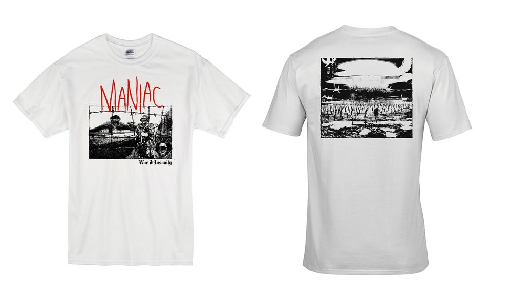 Image of Maniac - Album Cover t-shirt
