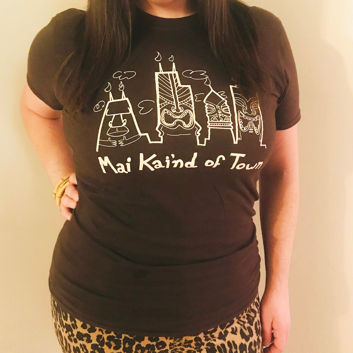 MAI KAI'ND OF TOWN Chicago Skyline Limited Edition T-Shirt