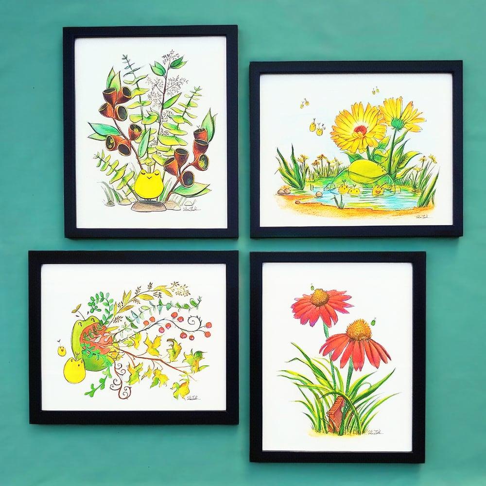 Image of Tiny Creatures 4-Print Set