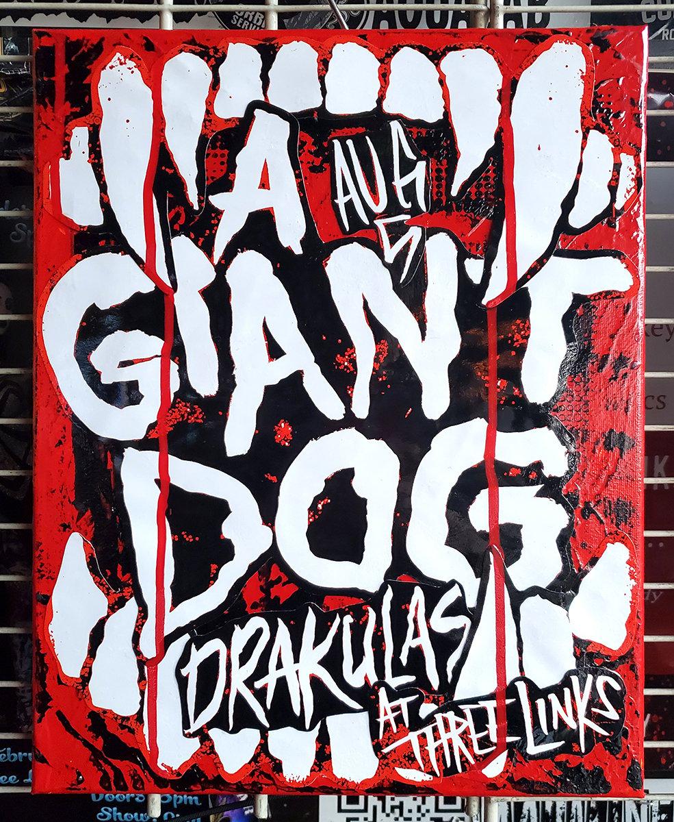 A Giant Dog 2016 (11x14 canvas)