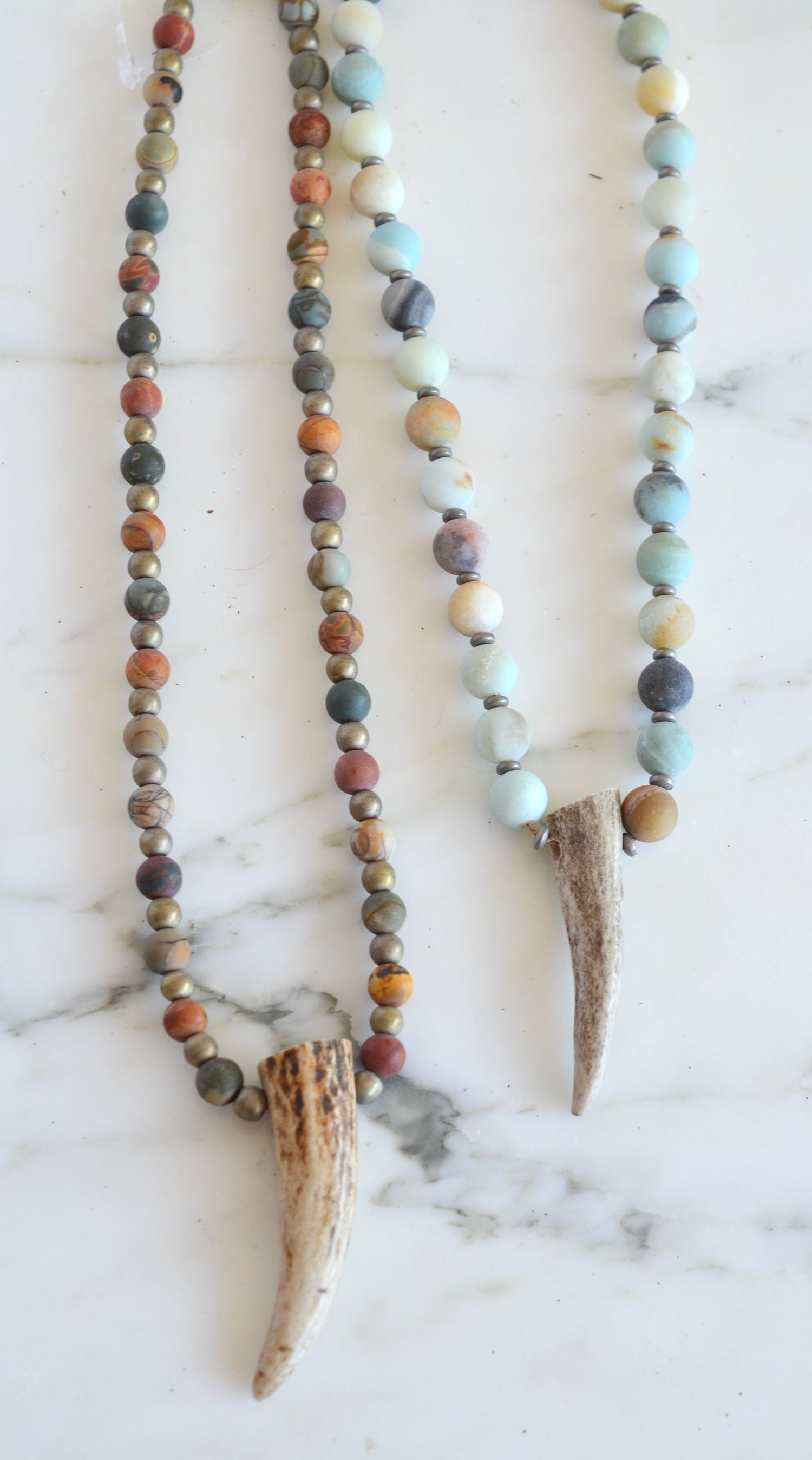Deer Tine Necklaces