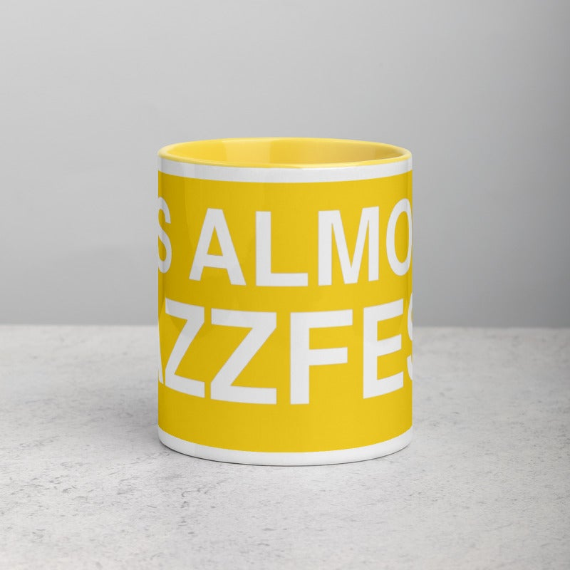 Jazzfest like a mug