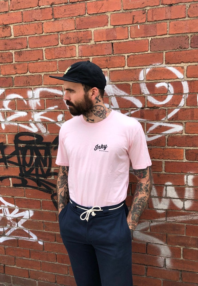 Image of Pink Inky Tee