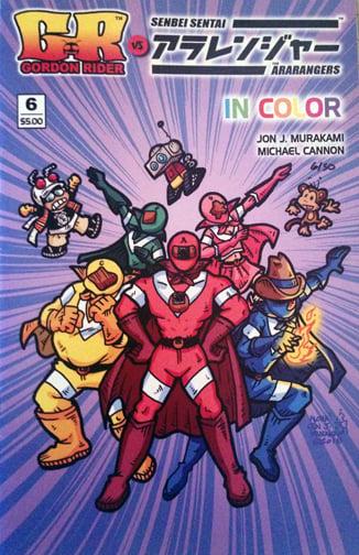 Gordon Rider VS The Ara-Rangers #6