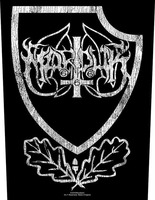 Image of Marduk - Shield backpatch