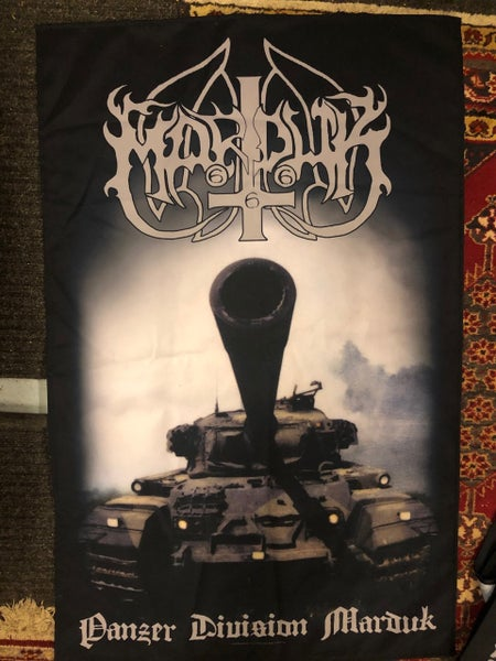Image of Marduk - Panzer Division Textile Poster