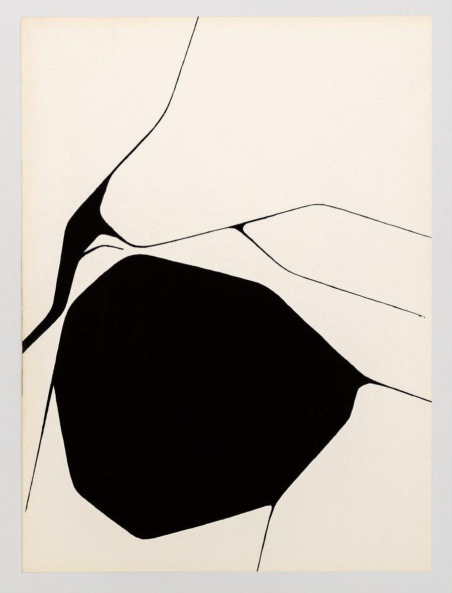 Image of Pablo Palazuelo, from 'Derrière le Miroir' No. 137, 1963, 3