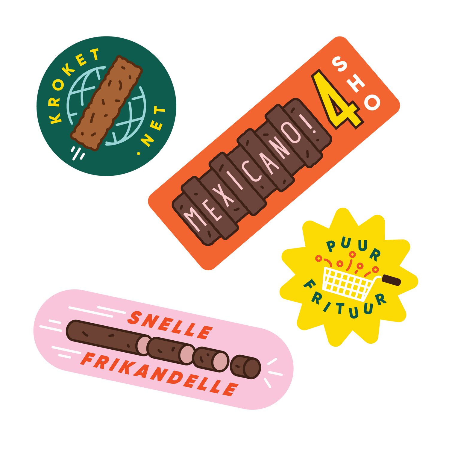 Image of Snack Stickerpack