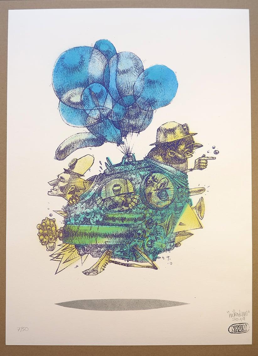 Image of BalloonBird 07/50