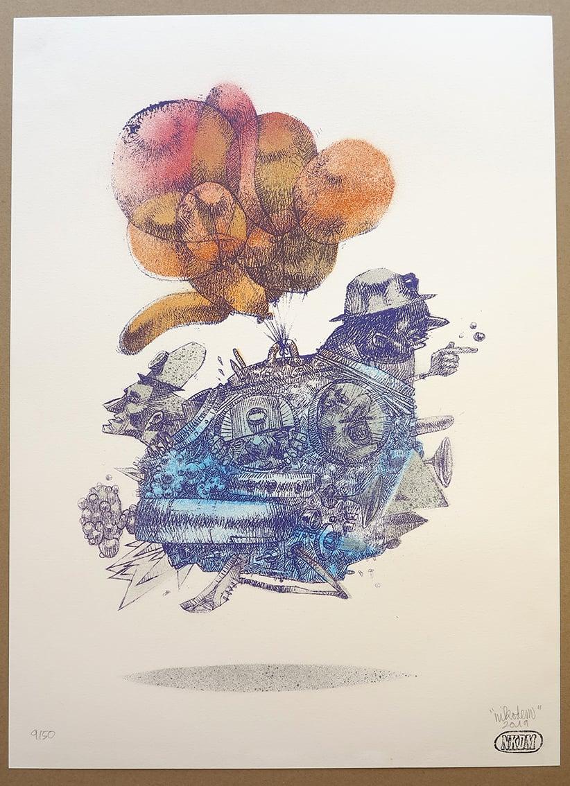 Image of BalloonBird 09/50