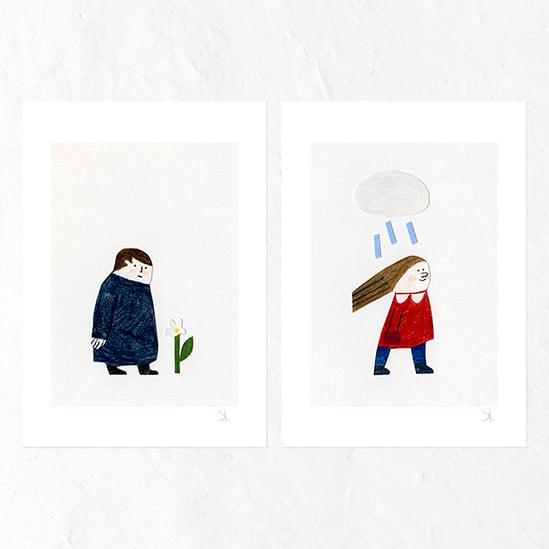 Image of Printemps set of prints