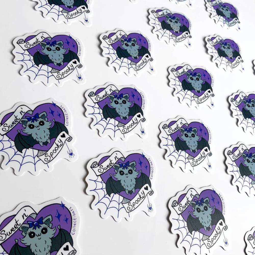 Sweet n' Spooky Purple Sticker