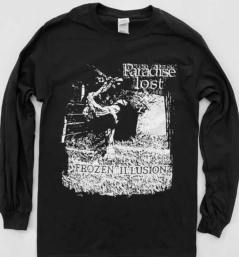 "Image of Paradise Lost "" Frozen Illusion "" Long Sleeve T shirt"