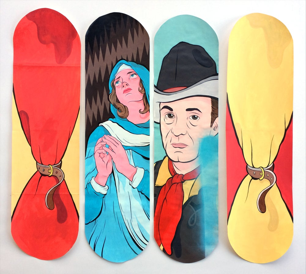 Image of Skateboard Paintings