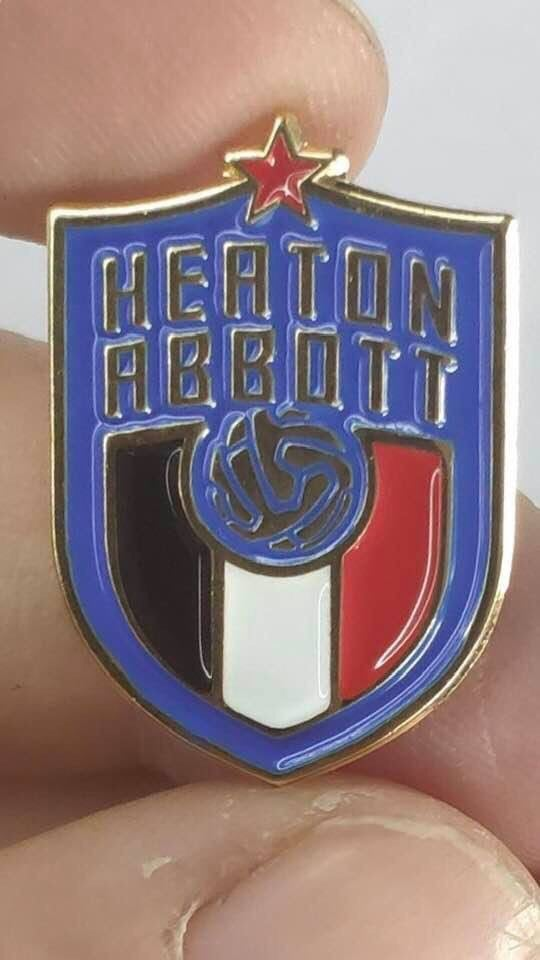 Image of Heaton & Abbott Football Badge