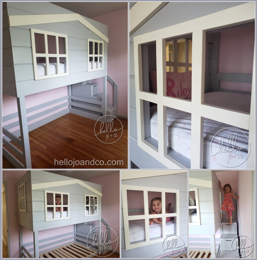 Image of Solid Wood Kid's Cabana