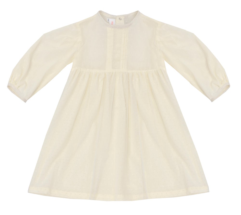 Image of DRESS FLORENCE off white