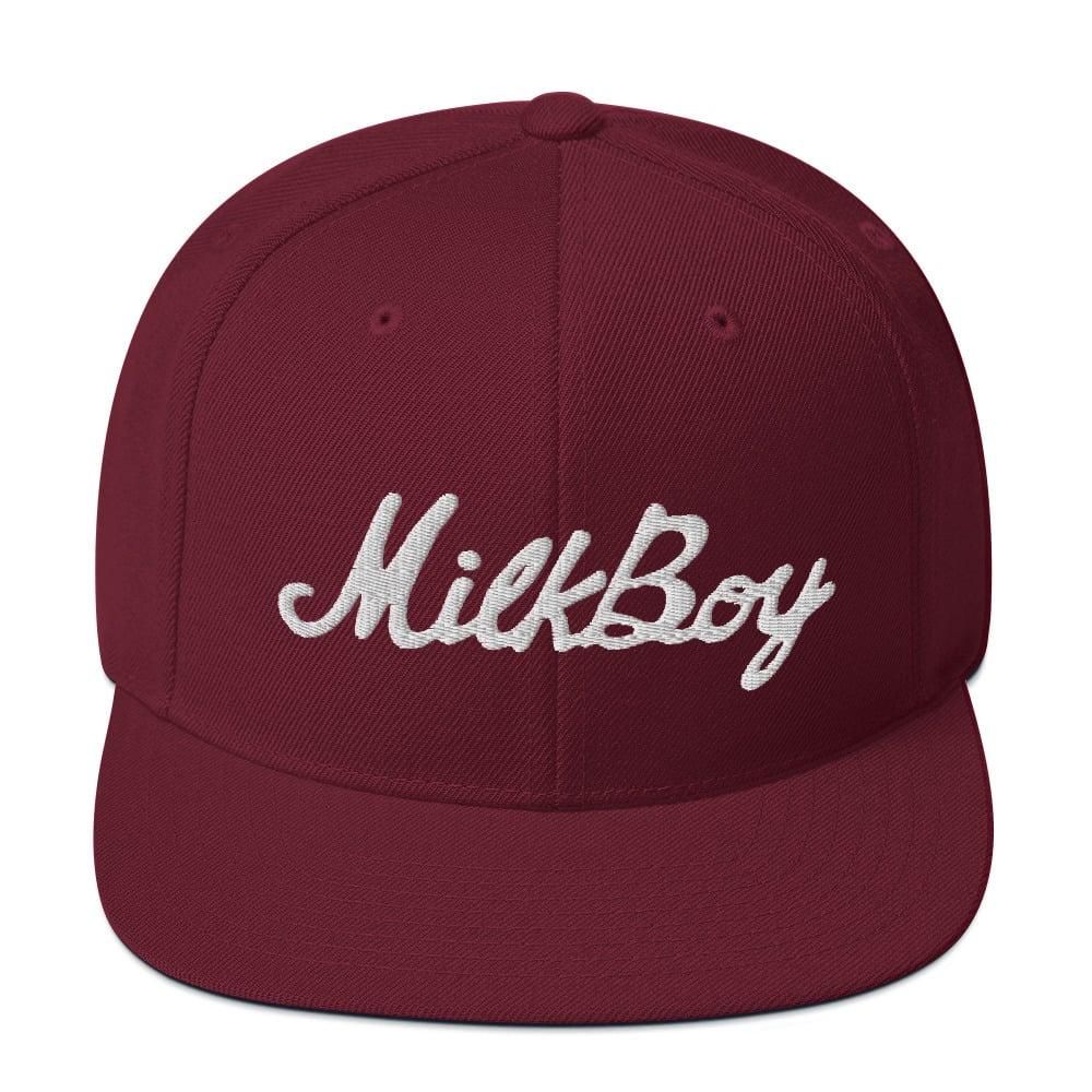 Image of Phillies Maroon MilkBoy SnapBack