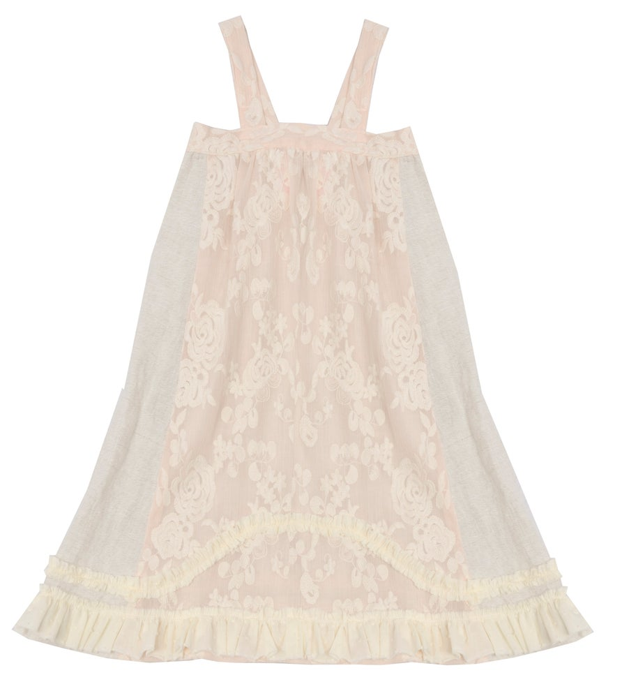 Image of SUMMER DRESS off white