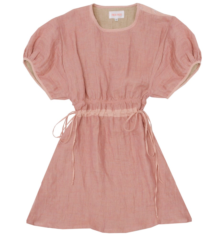Image of 50% off:  TUNIC painted rose