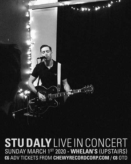 Image of Stu Daly live at Whelan's Tickets