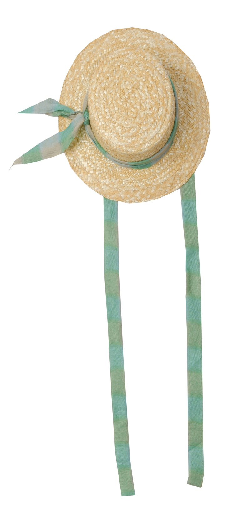 Image of STRAW HAT check
