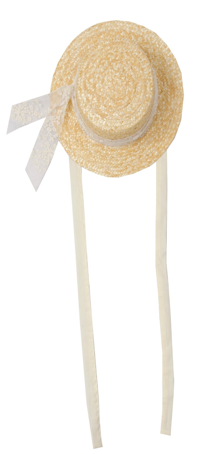 Image of STRAW HAT lace