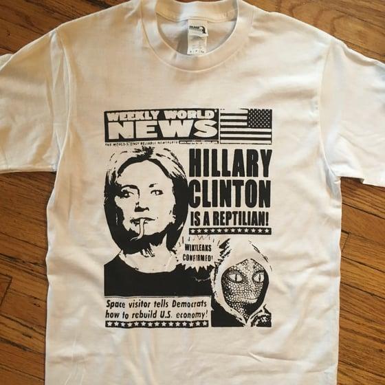Image of Reptilian Clinton