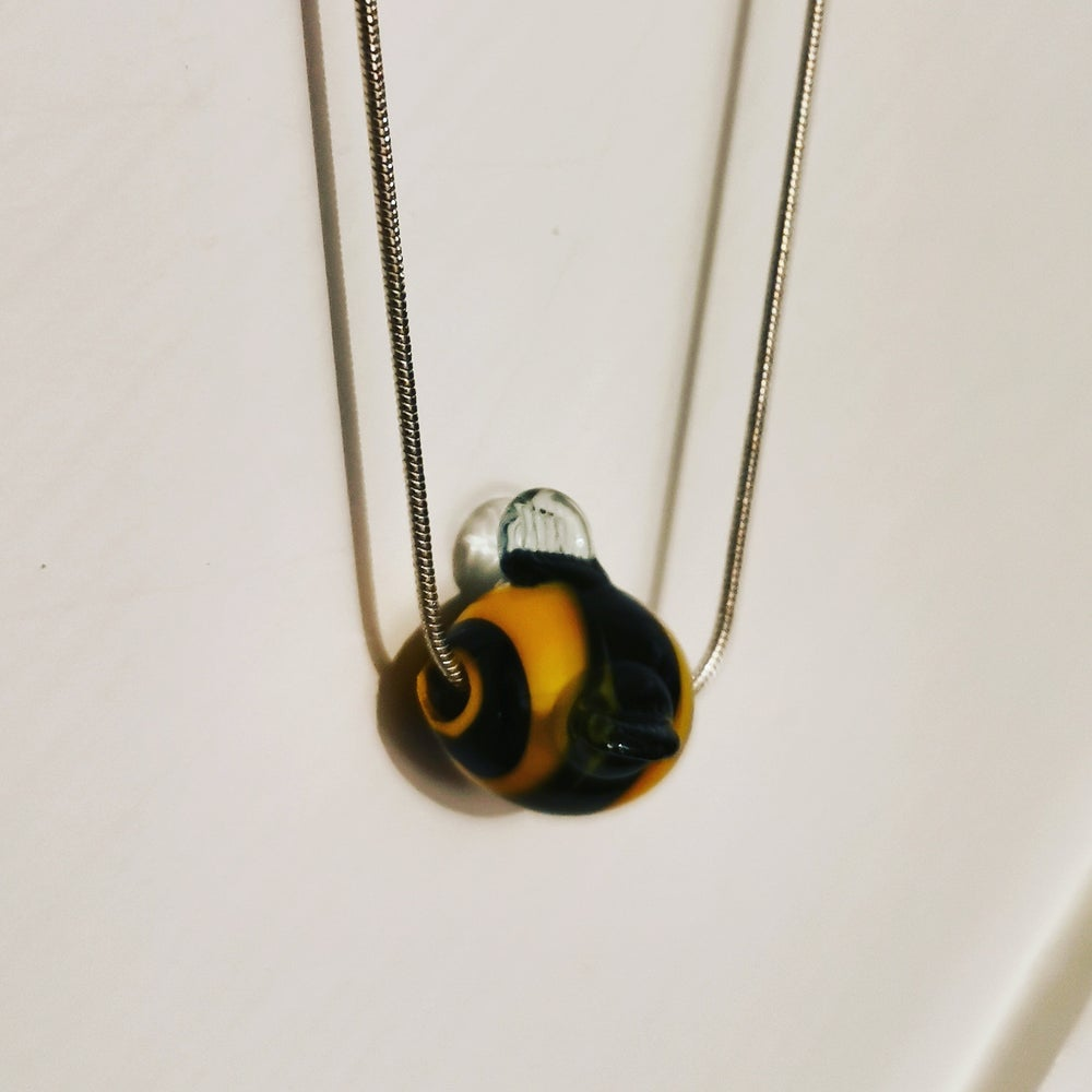 Bee Bead Necklace