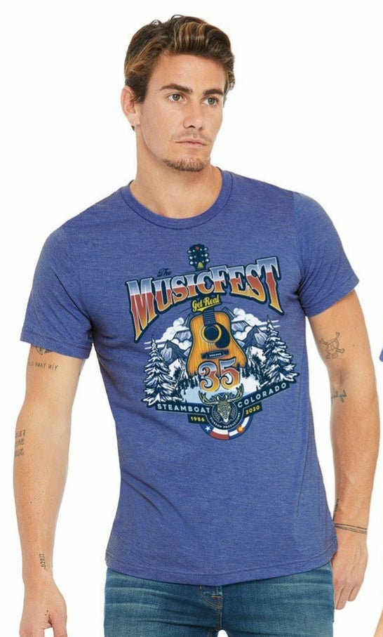 Image of Official 35th Anniversary MusicFest T-shirt