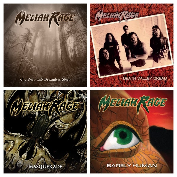Image of MELIAH RAGE [4 CD PACKAGE DEAL]