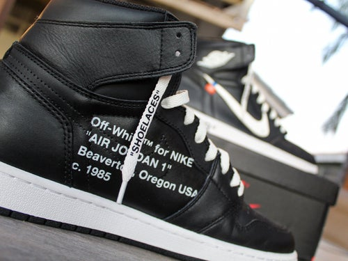 "Image of Off-White™ Inspired Jordan 1 ""Ying Yang"""