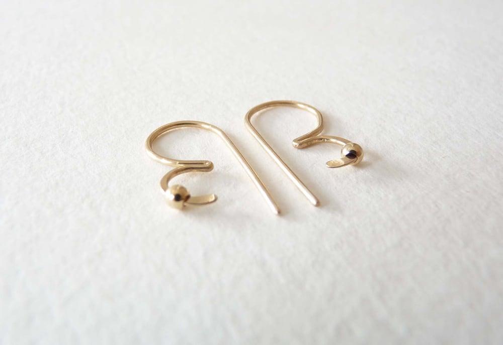 Image of Bee earrings