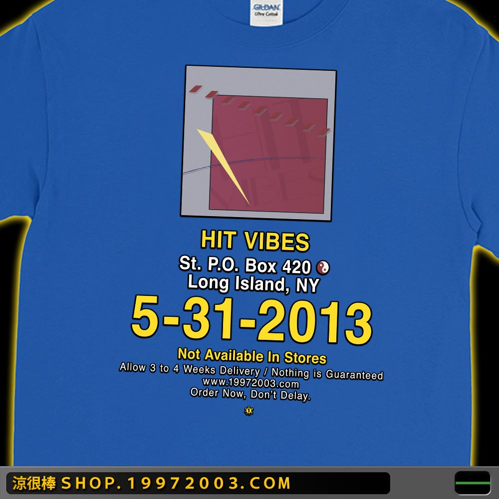 HIT VIBES - LONG SLEEVE T-SHIRT