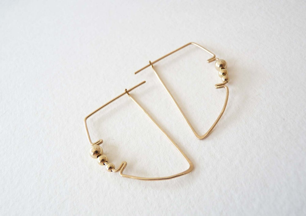 Image of Profile earrings
