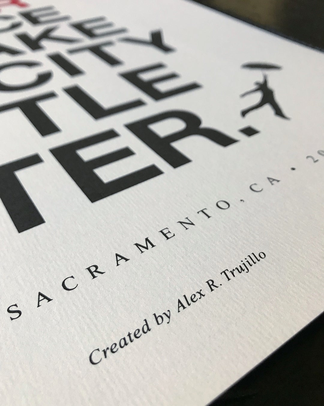 Image of EVERY DAY IS YOUR CHANCE TO MAKE THIS CITY A LITTLE BETTER. - 2019 Limited Run - Poster