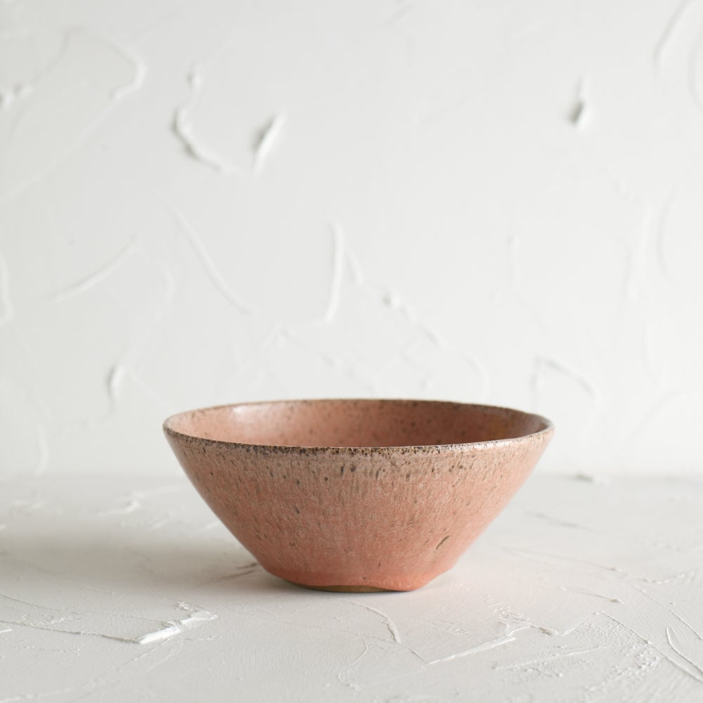 Image of Dark Pink Freckled Bowl 11