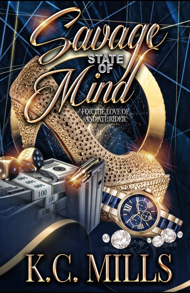 Image of Savage State Of Mind (Book 1-3) Autographed Copy 612 pages (Ships 5-7 business days)