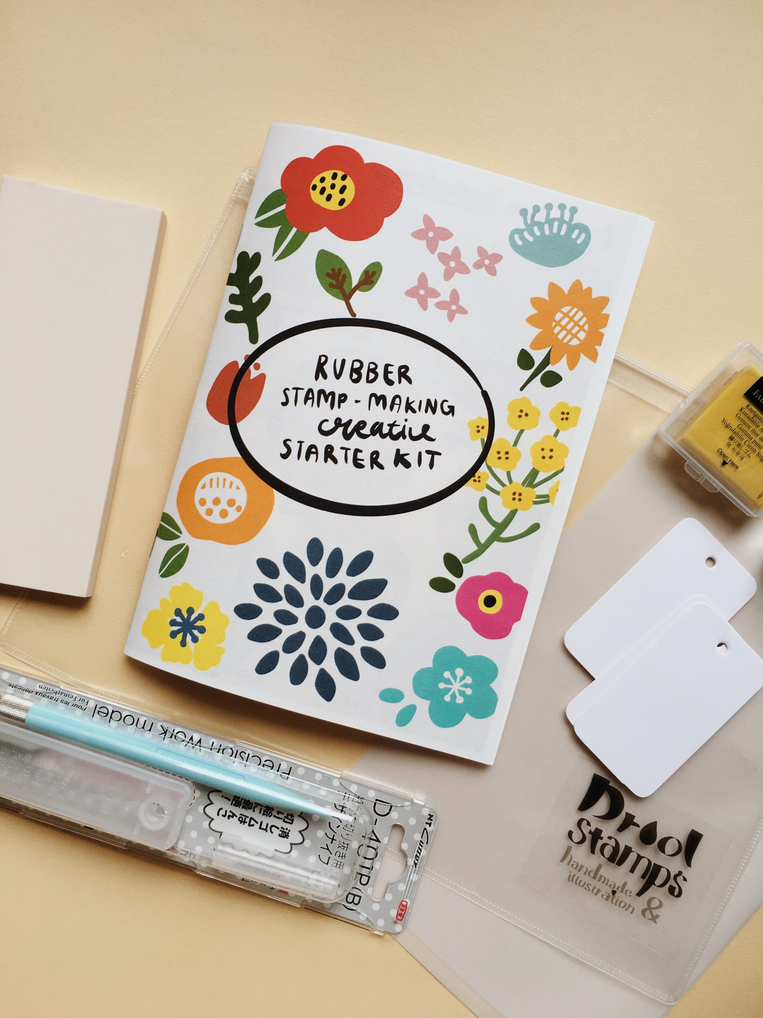 Rubber Stamp-Making Creative Starter Kit (FREE SHIPPING)