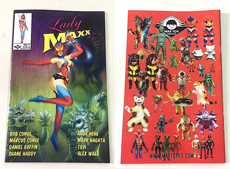 Image of Lady Maxx Comicbook Issue #1