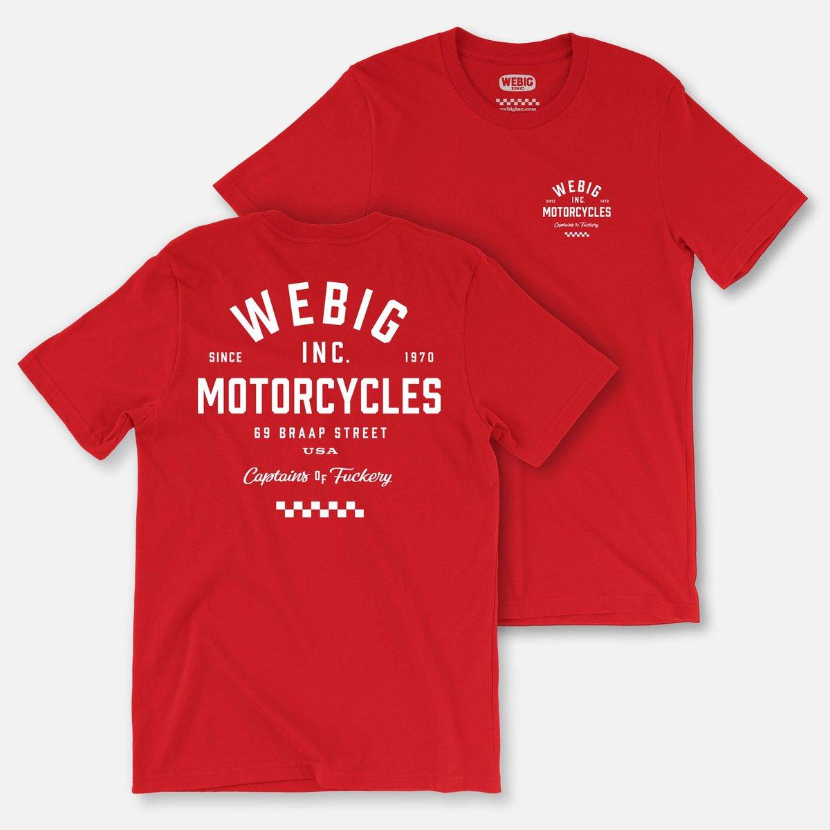 Image of WEBIG MOTOR TEE
