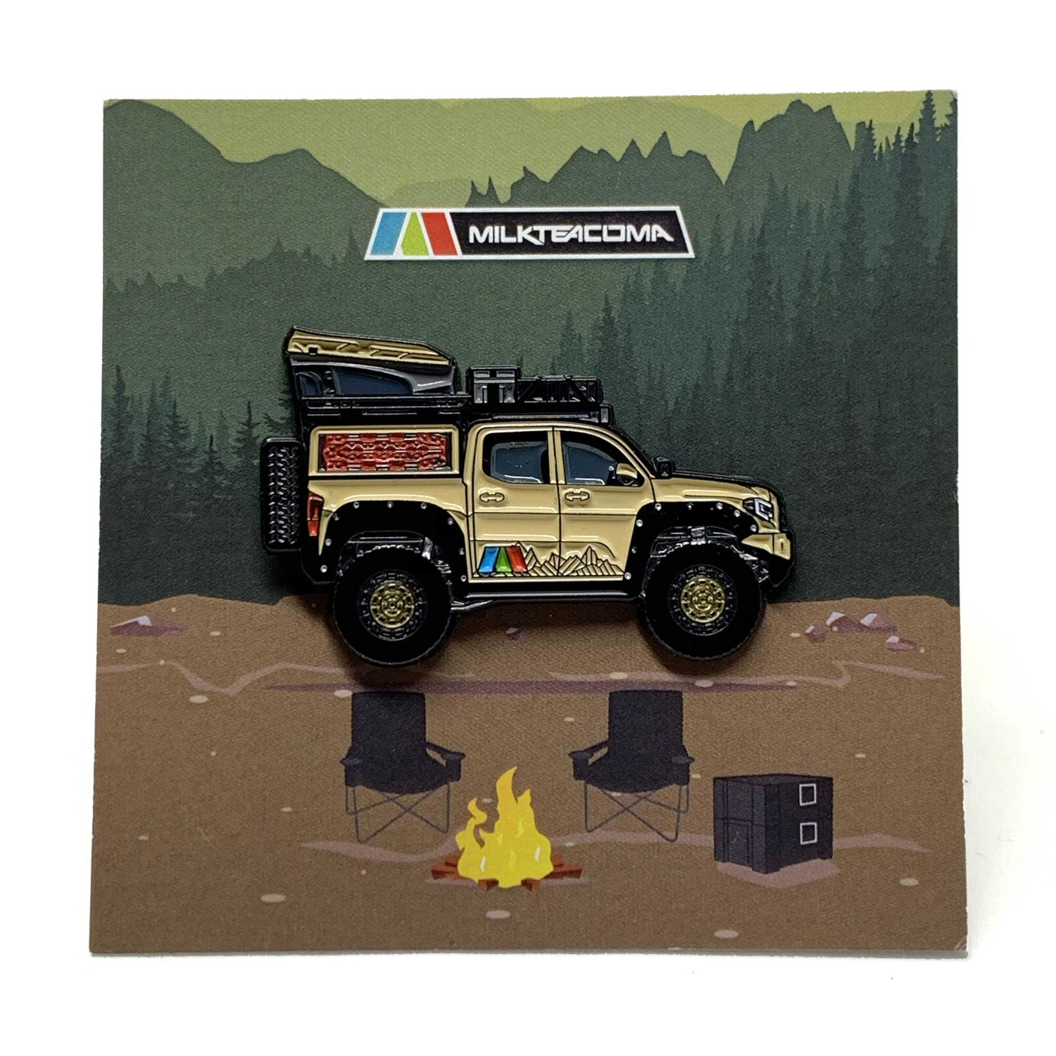 Image of Quicksand Tacoma V2 with moveable RTT
