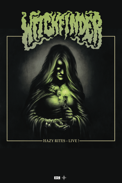 Image of WITCHFINDER DOUBLE VINYL ALBUM HAZY RITES
