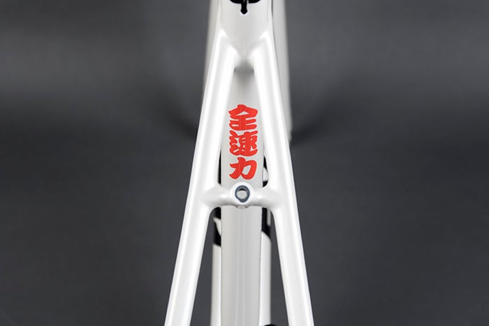 Image of New ENGINE11 SKYLINE frame set in Pearl White