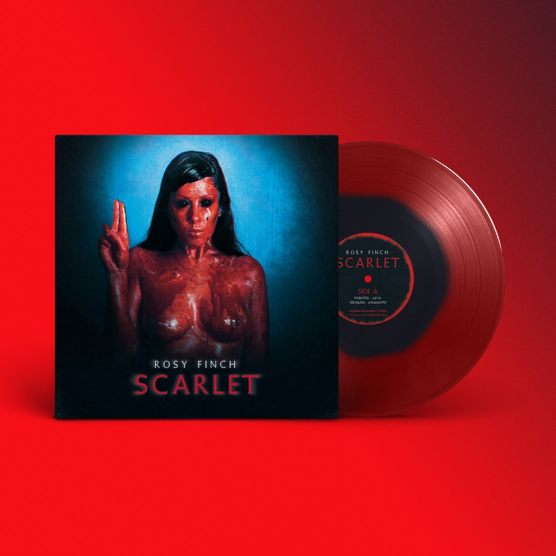 "Image of Rosy Finch / Árida Ticket + Vinilo + Descarga Gratuita ""Scarlet"""