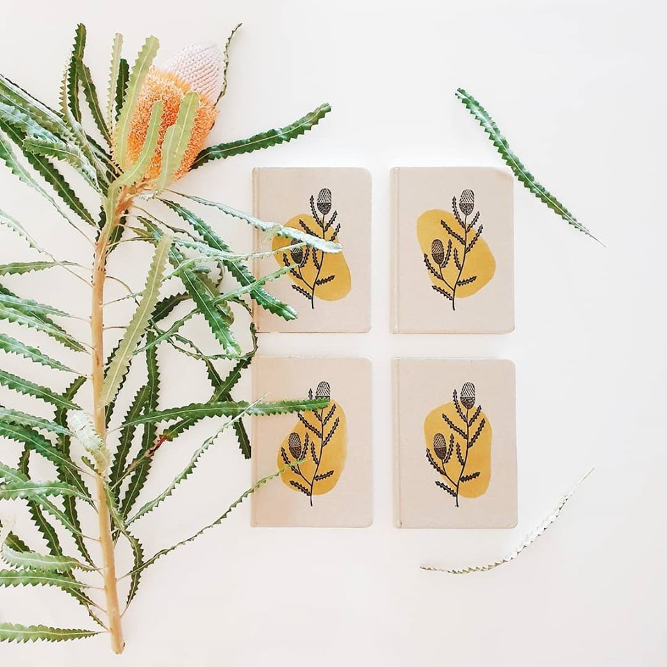 Image of Banksia Hardcover Notebook