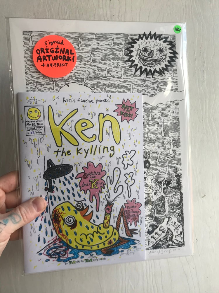 Image of LimiKen Edition Ken the Kylling Vol.01 (ORIGINAL A5)