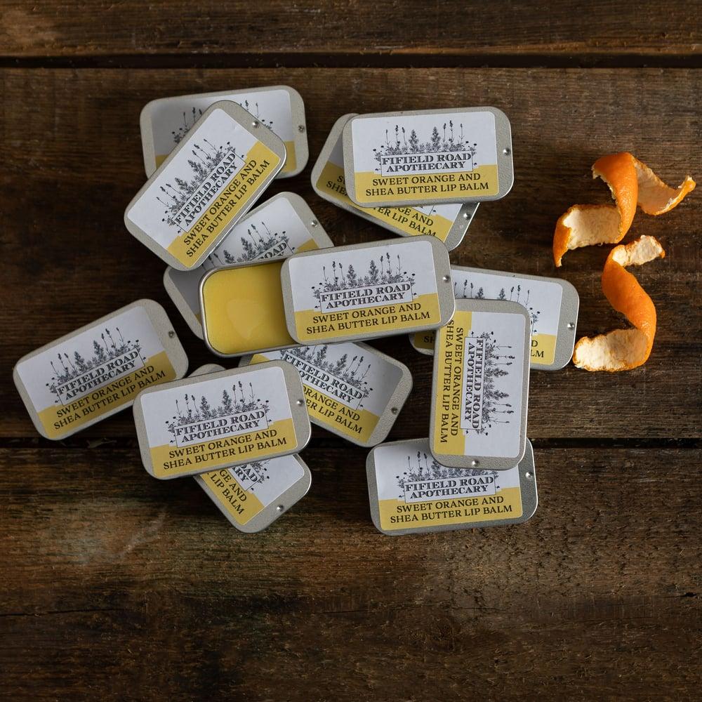 Image of Sweet Orange and Shea Butter Lip Balm