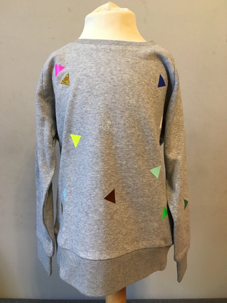 Image of Sweater Triangle grey