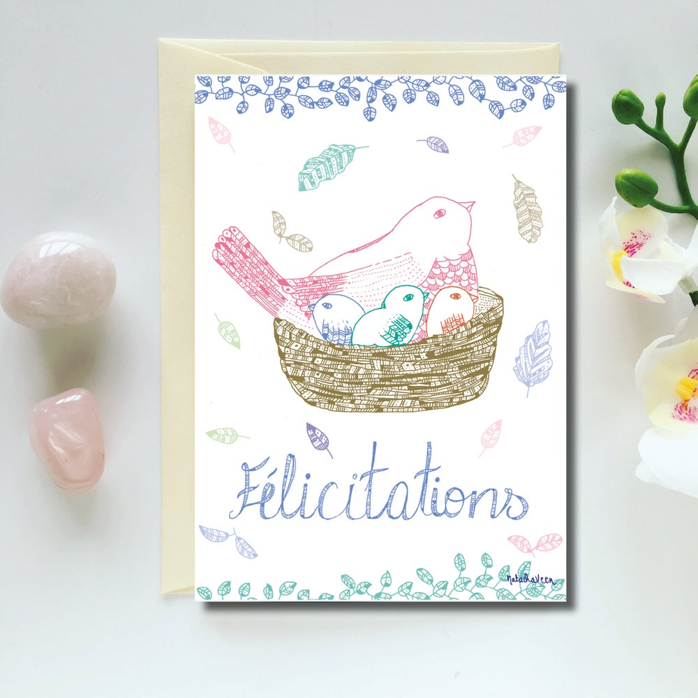 Image of Greeting Card *Félicitations*